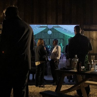 Milton Barn Venue at Night - Bude, Cornwall